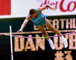 Dan O'Brien No-Heights at the Olympic Trials in '92