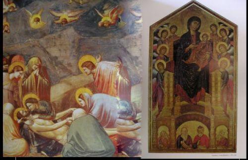 Giotto Cimabue