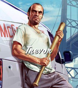 Trevor Philips Character in GTA